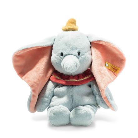 Steiff Disney Soft Cuddly Friends Dumbo bleu clair, 30 cm