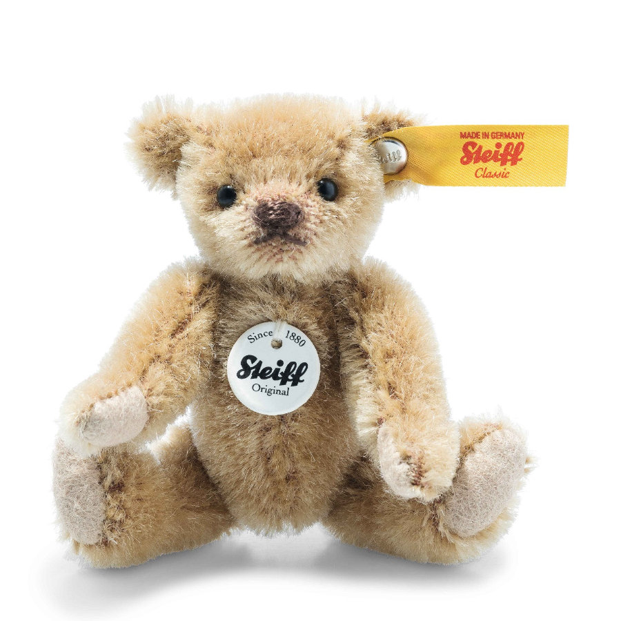 Steiff Mini Teddybär hellbraun, 9 cm