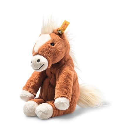 Steiff Soft Cuddly Friends Gola Schlenker-Pferd rotbraun, 27 cm