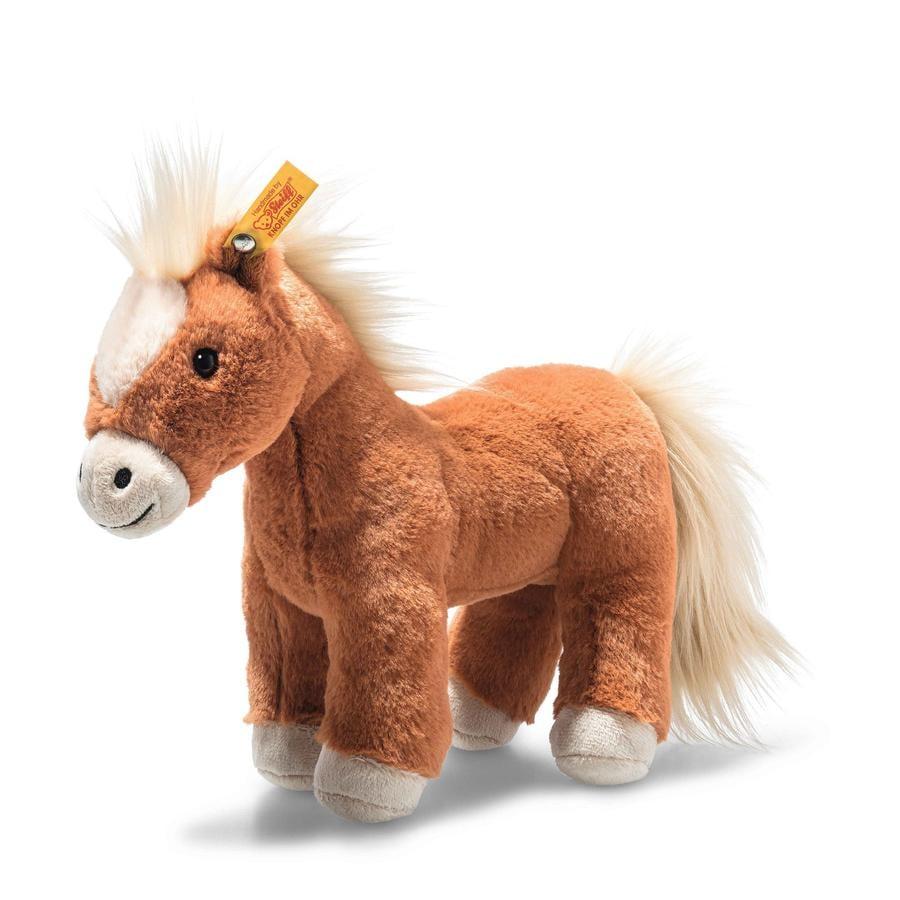 Steiff Soft Cuddly Friends Gola Pferd rotbraun, 27 cm