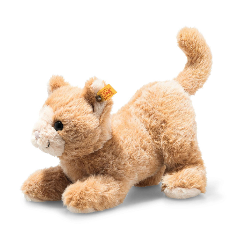 Steiff Soft Cuddly Friends Cassie Katze rotblond, 26 cm