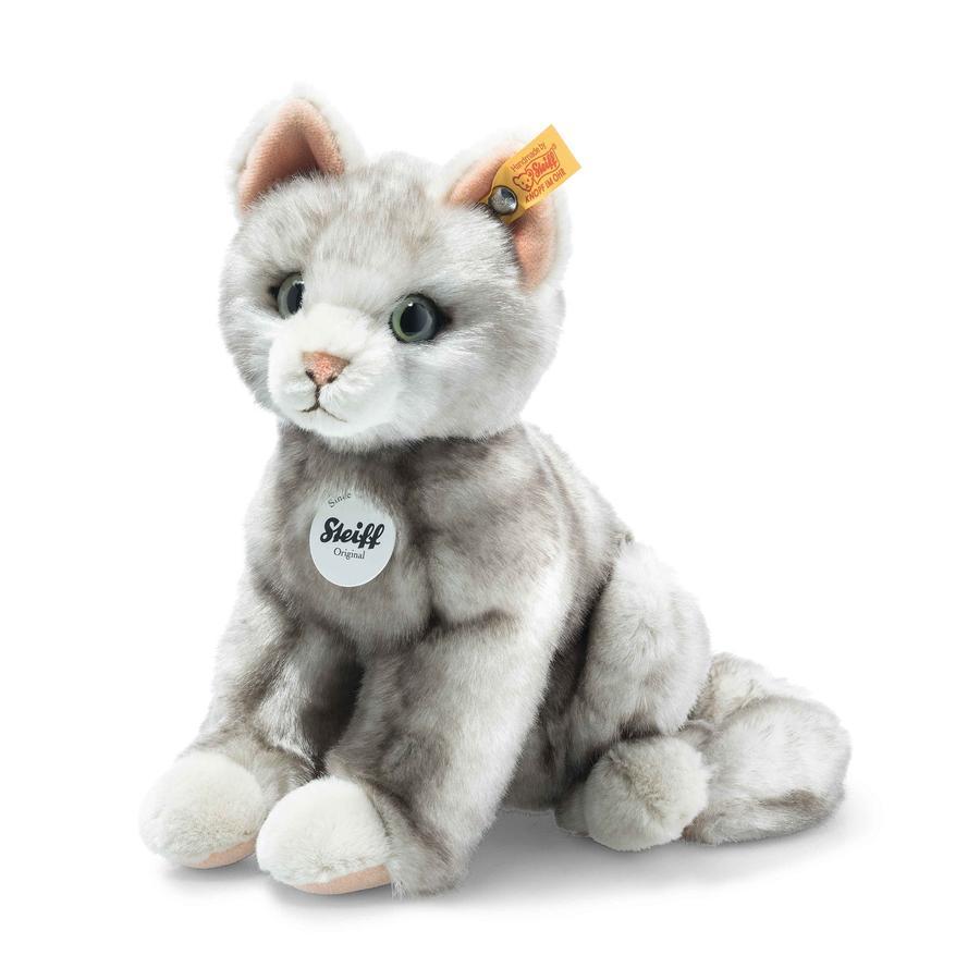 Steiff Filou Katze, grau gespitzt