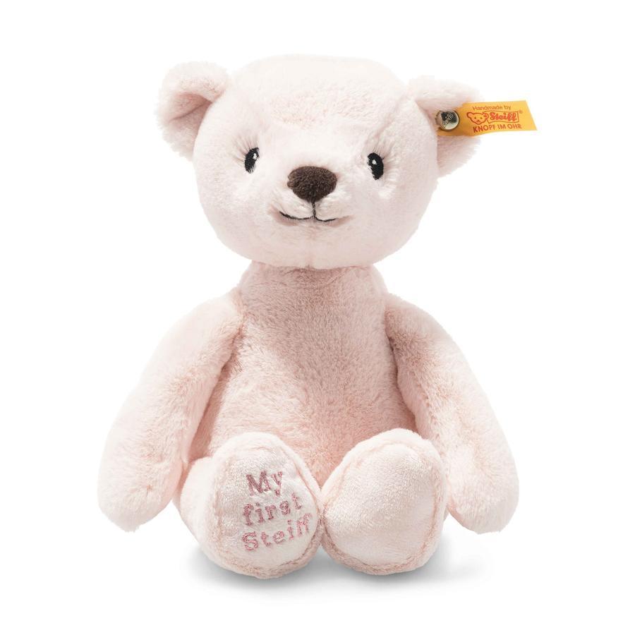 Steiff Zacht Cuddly Friends Mijn first Steiff Teddybeer, roze
