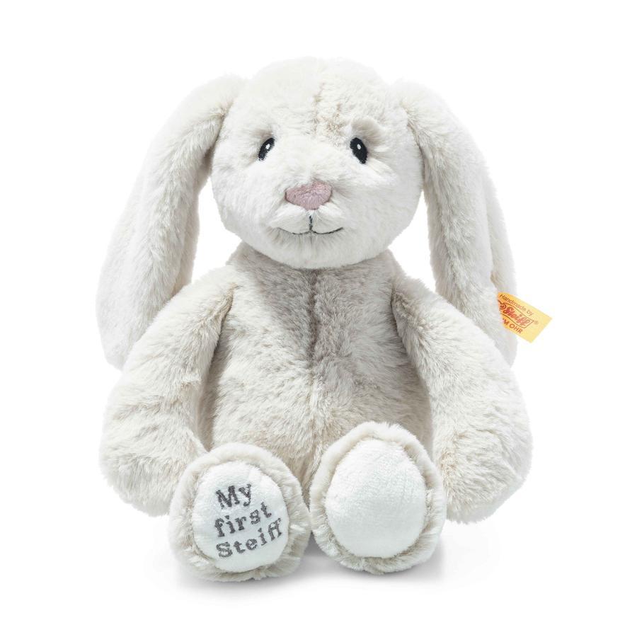 Steiff Soft Cuddly Friends My first Steiff Hoppie bunny, creme 26 cm