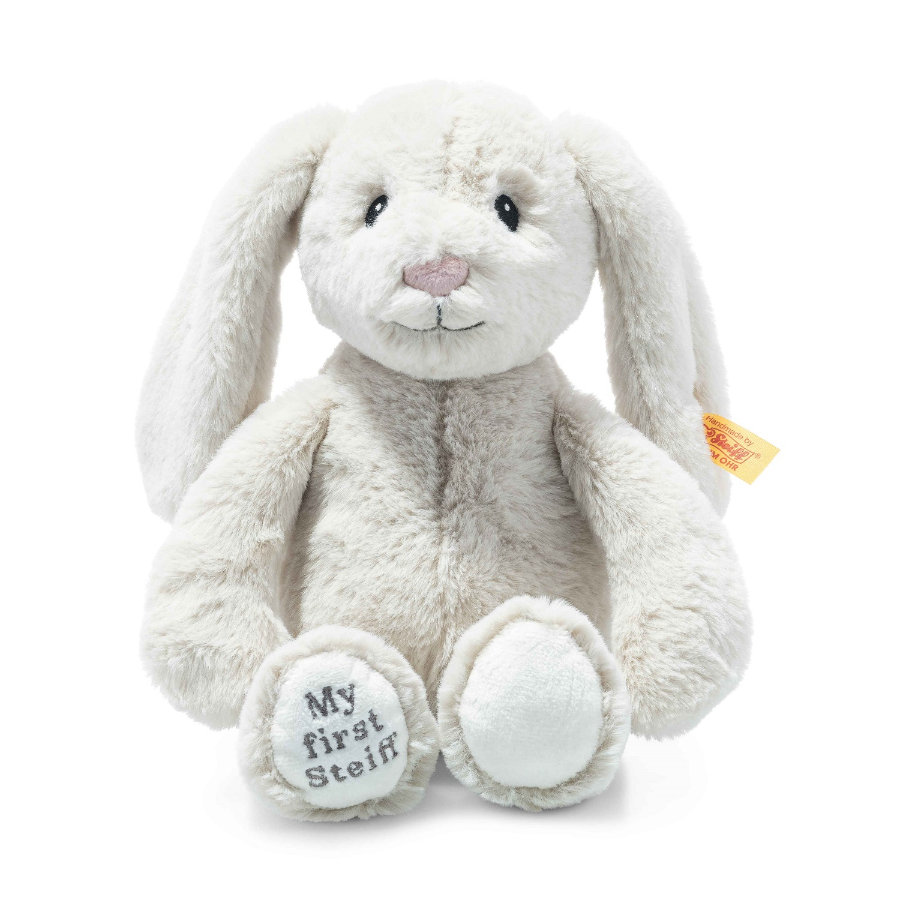 Steiff Soft Cuddly Friends My first Steiff Hoppie kanin, grädde 26 cm