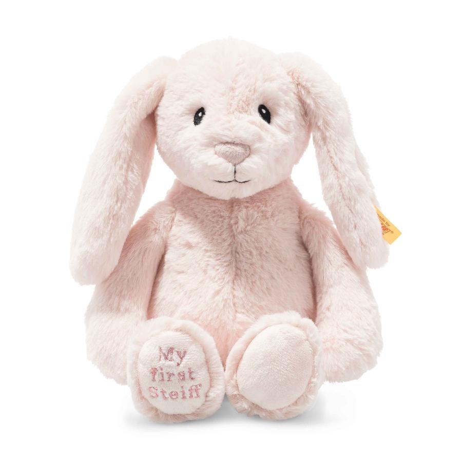 Steiff Soft Cuddly Friends My first Steiff Hoppie Hase, rosa 26 cm