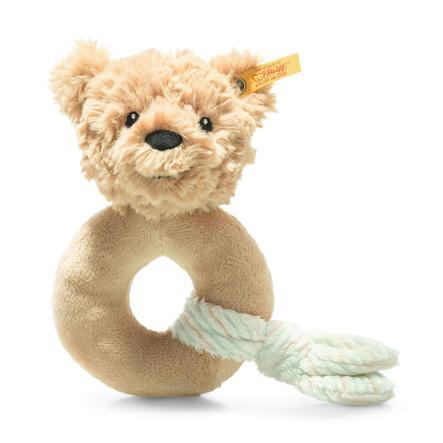 Steiff Soft Cuddly Friends Jimmy teddybjörn, leksak med skrammel, beige