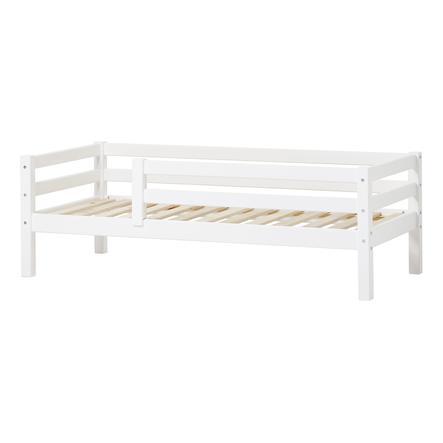 Hoppekids Juniorbett Basic weiß 70 x 160 cm mit Rausfallschutz