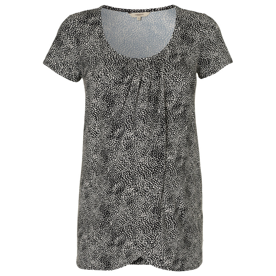 NOPPIES T-shirt de grossesse et d'allaitement GWEN charcoal