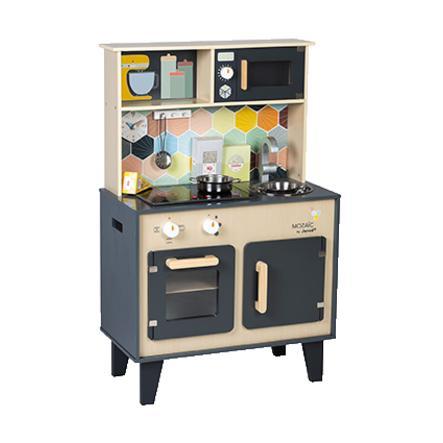 """Janod® Küche """"Mozaic"""" groß mit Licht-/ Soundfunktion"""