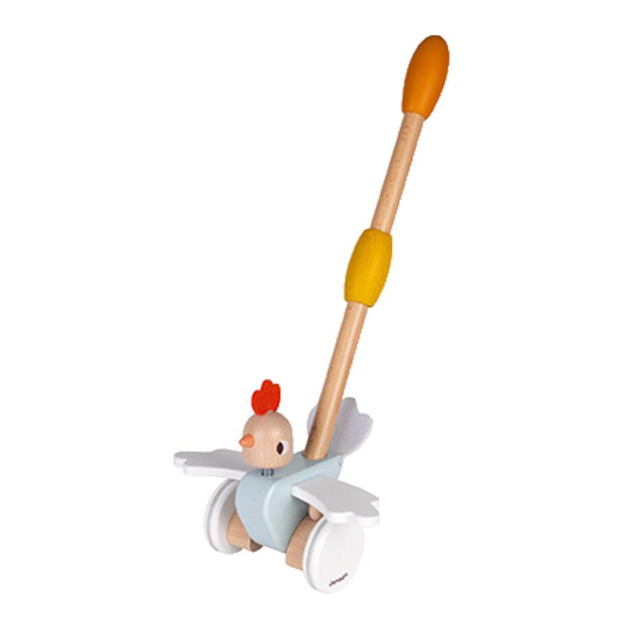 "Janod ® Push animal ""Chicken"