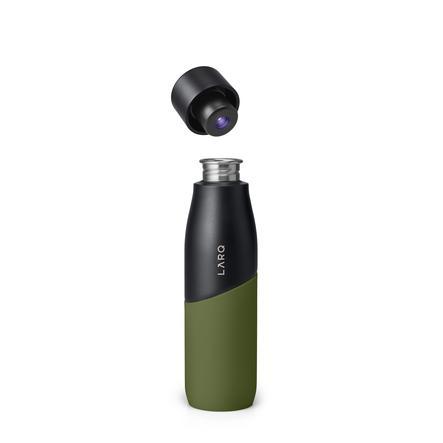 LARQ Fles Movement Terra Edition Black /Pine 710ml