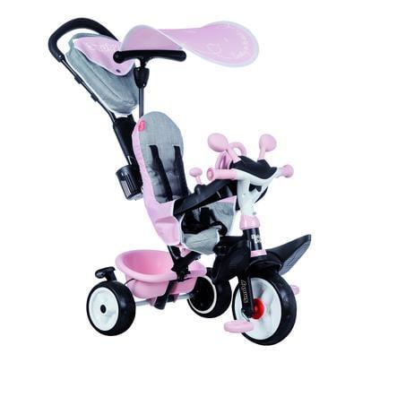 Smoby Tricycle évolutif enfant Driver confort rose 741501