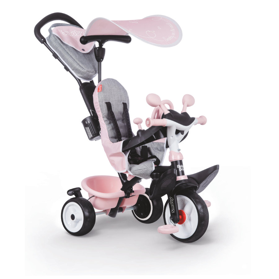 Smoby Baby D river Comfort Roze