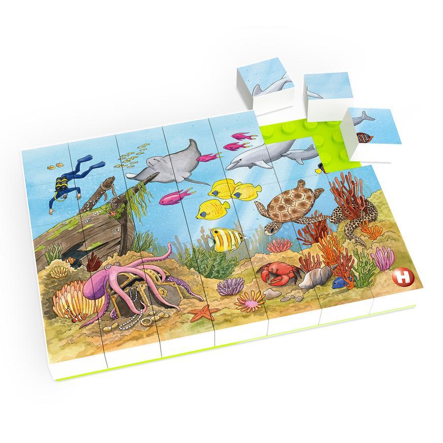 HUBELINO® Puzzle Bunte Unterwasserwelt (35-teilig)