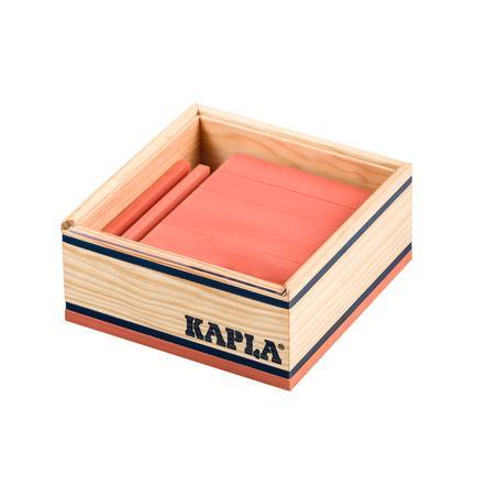 KAPLA Bausteine - 40er Quadrate, Rosa