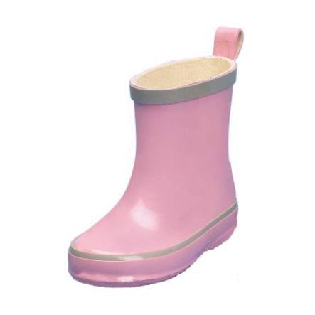 PLAYSHOES Gummistövlar Girls ljusrosa PVC-fria
