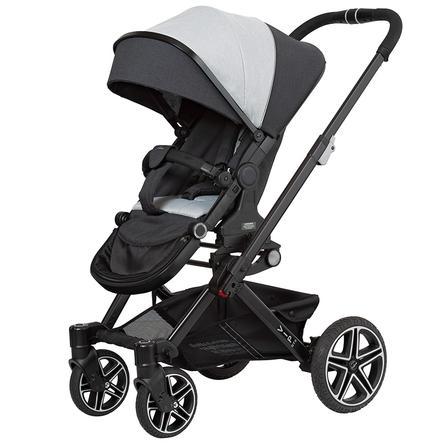 Hartan Kinderwagen Vip GTX new born teddy (411) Frame kleur zwart