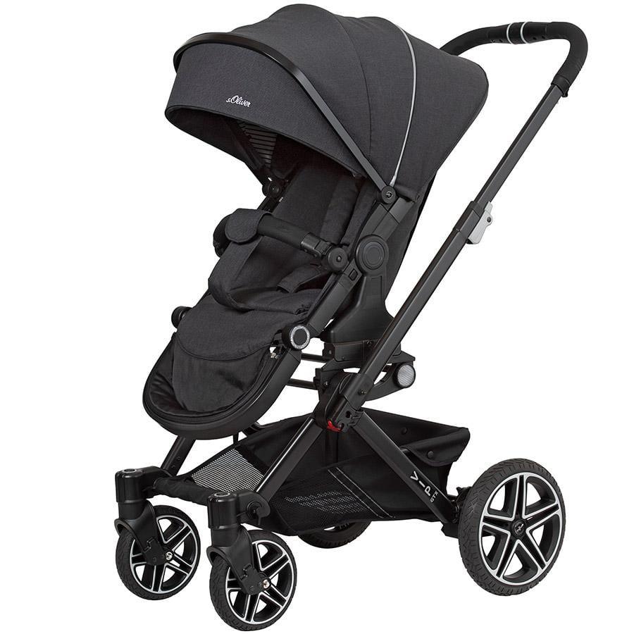 Hartan Carro de bebé Vip GTX s.Oliver classy stripe (431) Chasis color negro