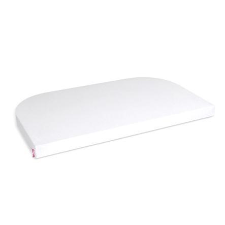 babybay Spannbetttuch Jersey weiß 89 x 50 cm