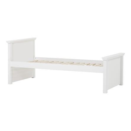 Hoppekids Maja Deluxe Sofabett 90 x 200 cm Rollrost weiß 1 hohes und 1 mittleres Bettende