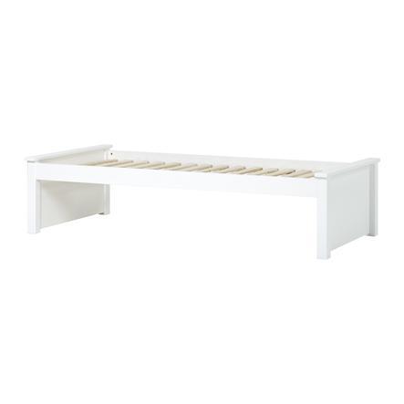 Hoppekids Maja Deluxe Sofabett 90 x 200 cm Rollrost weiß 2 niedrige Bettenden