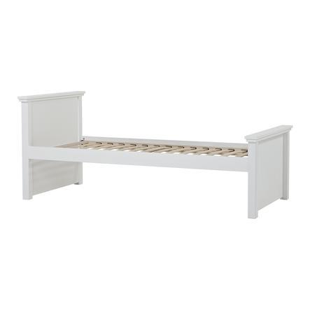 Hoppekids Maja Deluxe Sofabett 90 x 200 cm Lattenrost weiß 1 hohes und 1 mittleres Bettende