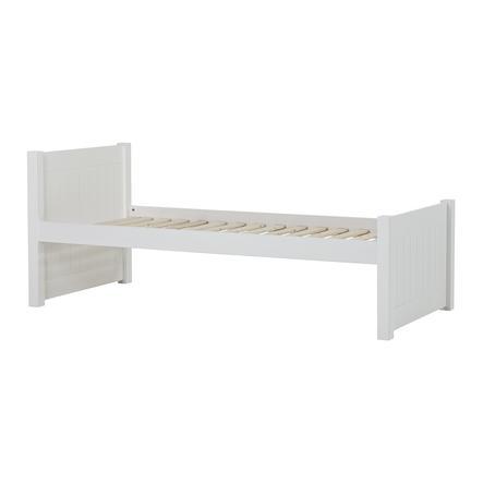 Hoppekids Noah Deluxe Sofabett 90 x 200 cm Lattenrost weiß 1 hohes und 1 mittleres Bettende
