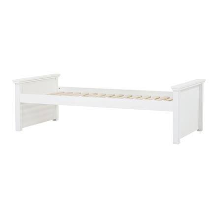 Hoppekids Maja Deluxe Sofabett 90 x 200 cm Rollrost weiß 2 mittlere Bettenden