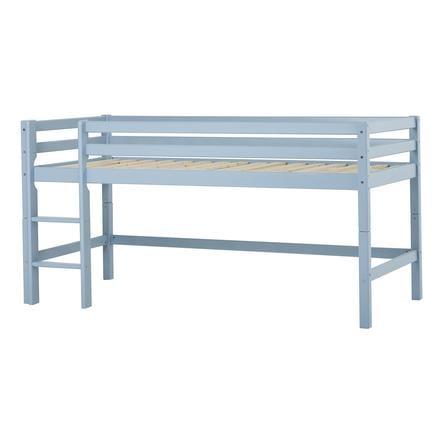 Hoppekids Lit mezzanine enfant Basic dream blue 90x200 cm
