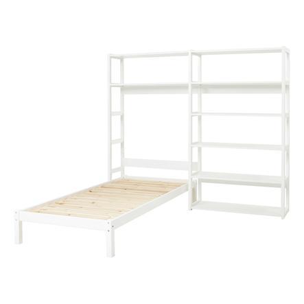 Hoppekids Regal Set Storey mit 8 Regalböden und Einzelbett 90 x 200 cm