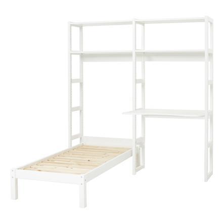 Hoppekids Regal Set Storey mit Schreibtisch und Einzelbett 70 x 160 cm