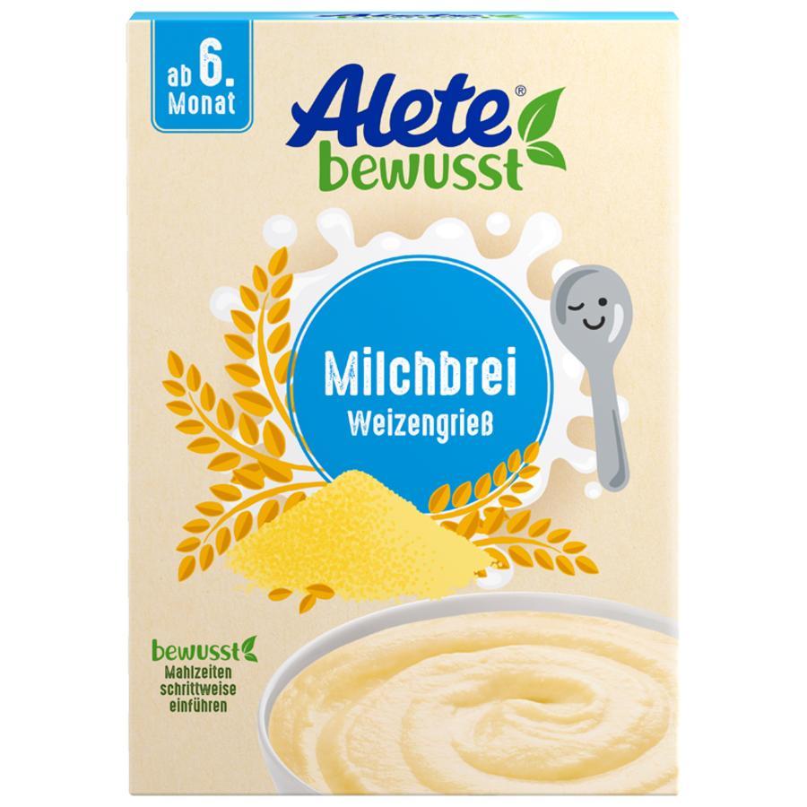 Alete Milchbrei Weizengrieß 400 g ab dem 6. Monat