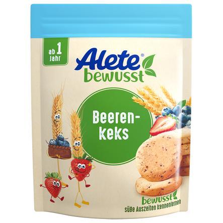 Alete Beerenkeks 150 g ab dem 1. Jahr im Geschmack Heidelbeere und Erdbeere