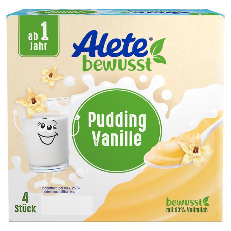 Alete Becherprodukt Pudding Vanille 4 x 100 g ab dem 1. Jahr
