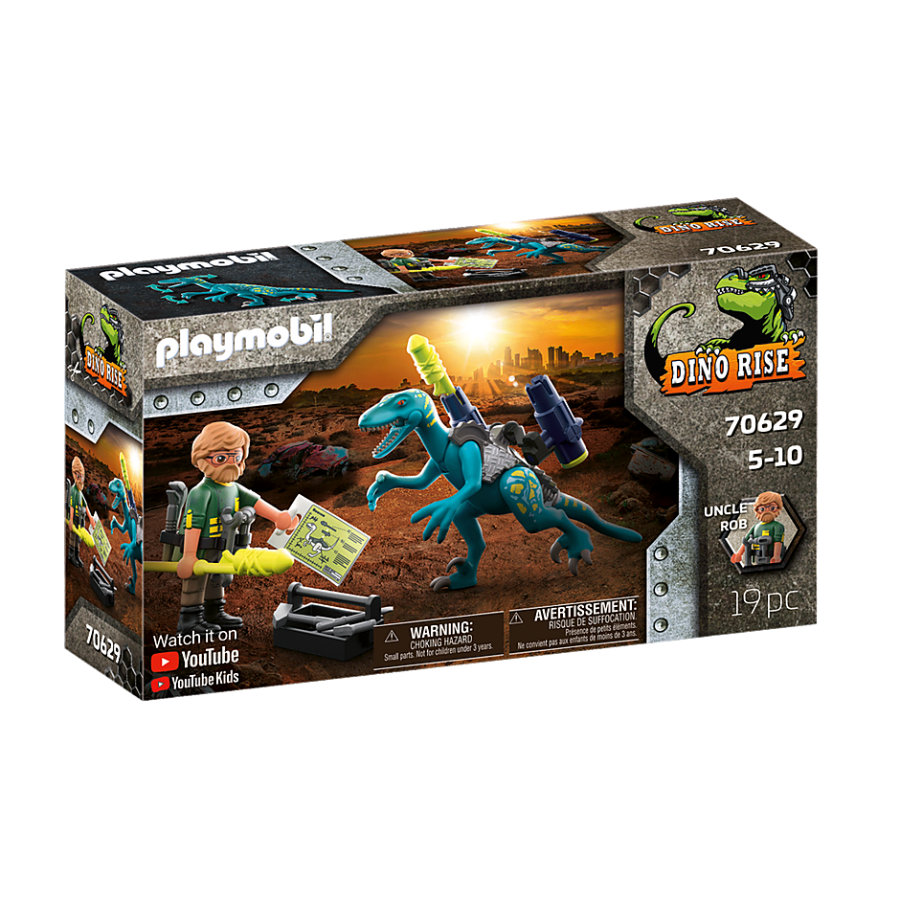 PLAYMOBIL® Dino Rise Uncle Rob: Aufrüstung zum Kampf 70629