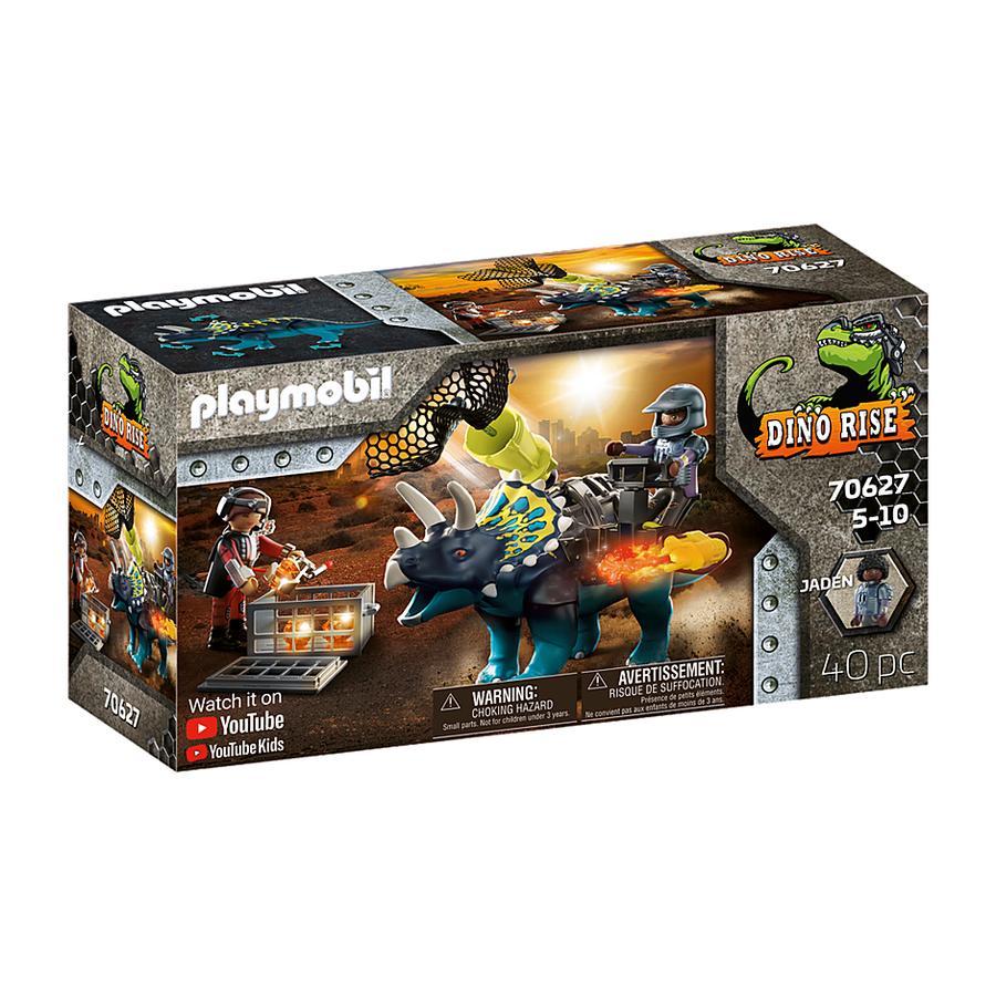 PLAYMOBIL ® Dino Rise Triceratops: Opptøy rundt de legendariske steinene 70627