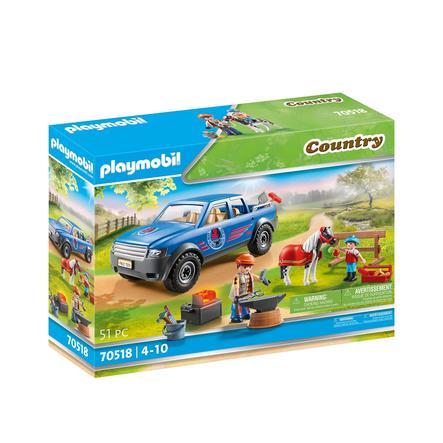 PLAYMOBIL® Mobiler Hufschmied 70518