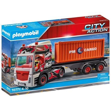 PLAYMOBIL® City Action LKW mit Anhänger 70771