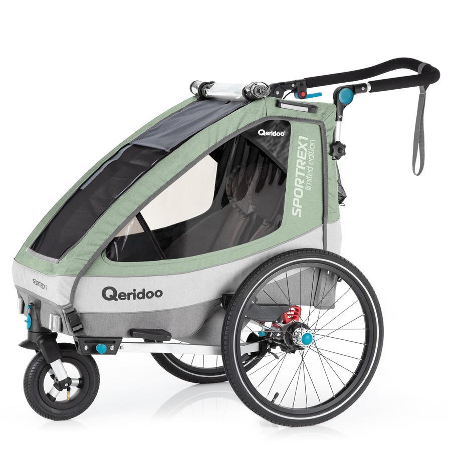 Qeridoo® Kinderfahrradanhänger Sportrex1 Limited Edition Mint