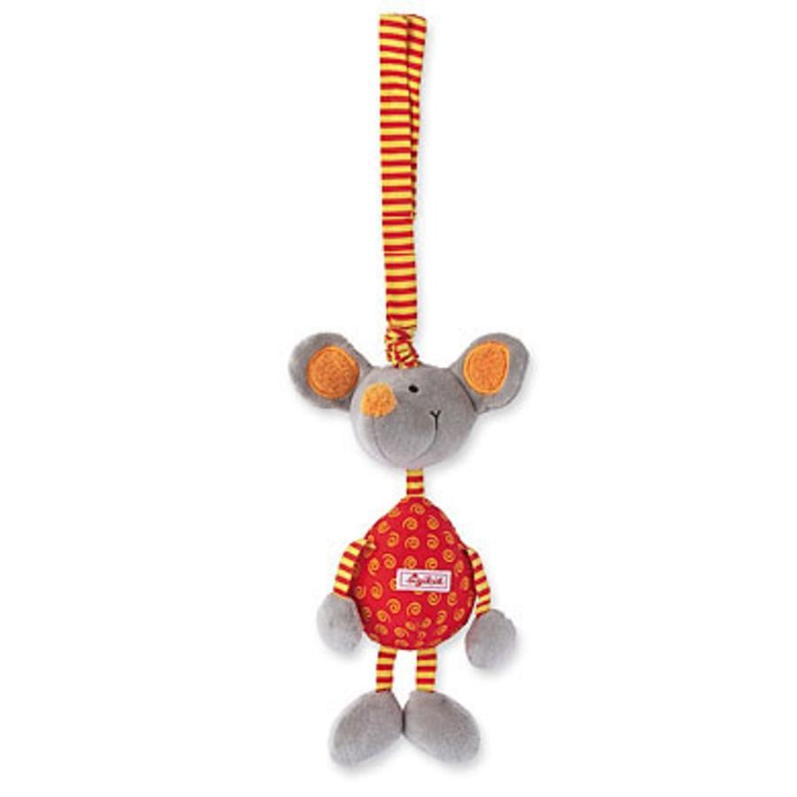 SIGIKID Anhänger Maus mit Vibrationsrassel