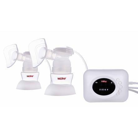 Nûby dobbeltpumpesett for elektrisk brystpumpe