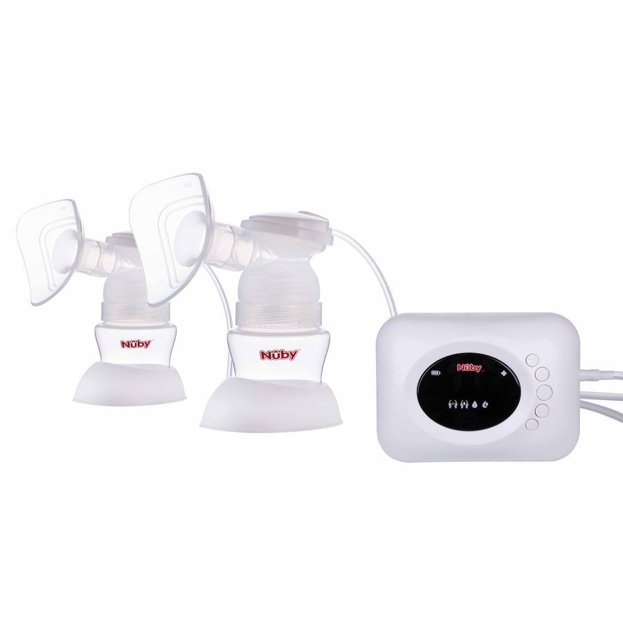Nûby dobbeltpumpesæt til elektrisk brystpumpe