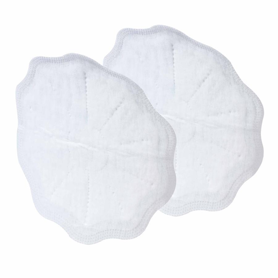 Coussinets d'allaitement Nûby pour tous les jours 30 pièces, 28 pièces en blanc et 2 pièces en noir