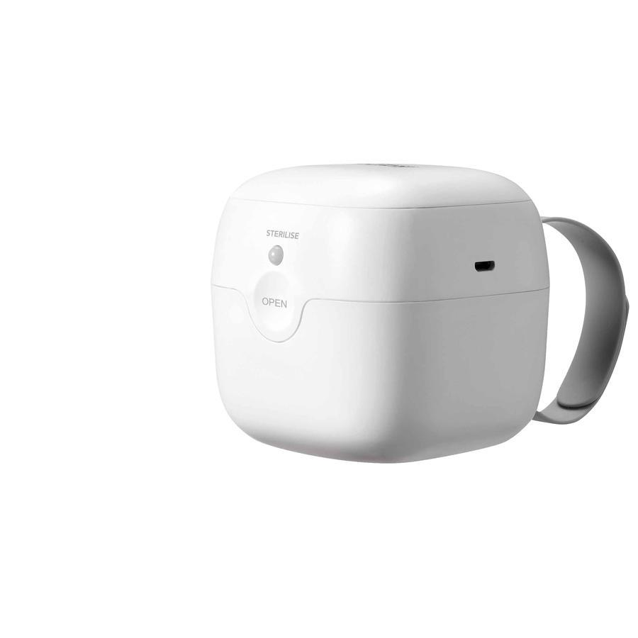 Nûby UV Sterilisator für Beruhigungssauger inkl. 1x Schnuller 0-6 Monate