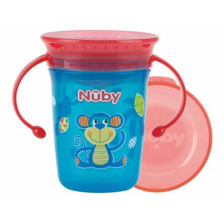 Nûby 360° Trinklerntasse aus Tritan WONDER CUP 240 ml in aqua