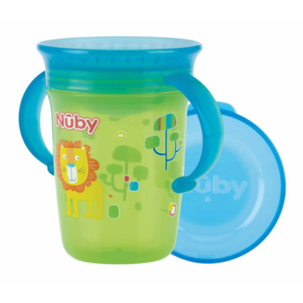 Nûby 360° Trinklerntasse aus Tritan WONDER CUP 240 ml in grün