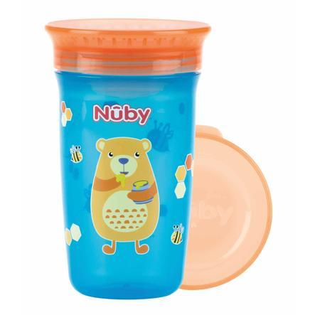 Nûby 360° Trinklerntasse aus Tritan WONDER CUP 300 ml in aqua