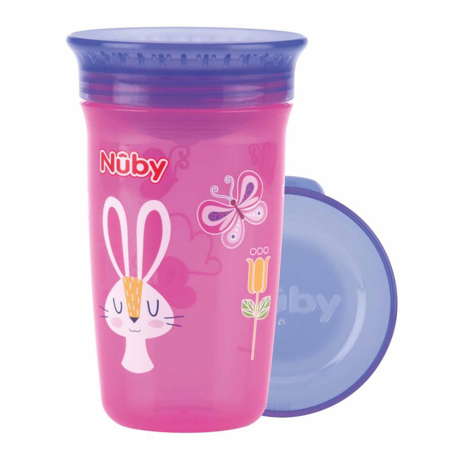 Nûby 360° Trinklerntasse aus Tritan WONDER CUP 300 ml in pink