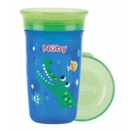 Nûby 360° Trinklerntasse aus Tritan WONDER CUP 300 ml in blau